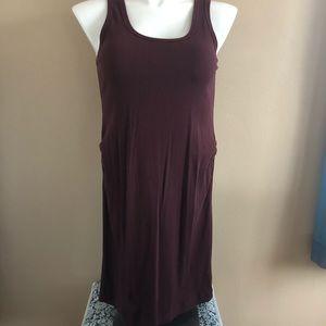 2/$20 H&M Maroon Ribbed Dress